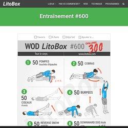 Challenge 300 (spartiates version Litobox) pour le WOD #600