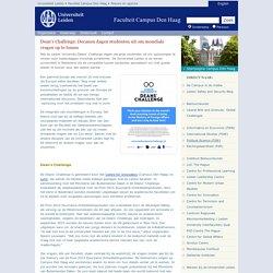 Dean's Challenge: Decanen dagen studenten uit om mondiale vragen op te lossen - Nieuws en agenda - Campus Den Haag
