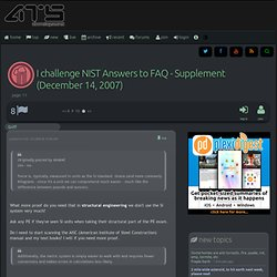 I challenge NIST Answers to FAQ - Supplement (December 14, 2007), page 11