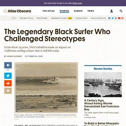 The Legendary Black Surfer Who Challenged Stereotypes