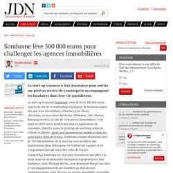 Somhome lève 500 000 euros pour challenger les agences immobilères