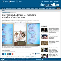How online challenges are helping to stretch student chemists