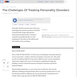 The Challenges Of Treating Personality Disorders