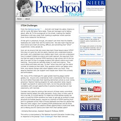 Preschool Matters... Today!
