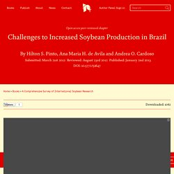 INTECH 23/08/12 Challenges to Increased Soybean Production in Brazil