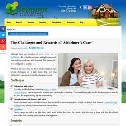 The Challenges and Rewards of Alzheimer's Care