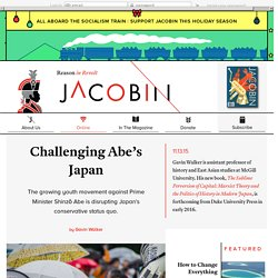 Challenging Abe's Japan