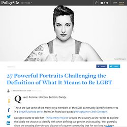 27 Powerful Portraits Challenging the Definition of What It Means to Be LGBT