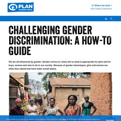 Challenging gender discrimination: a how-to guide