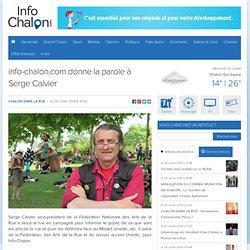 29/07 info-chalon.com donne la parole à Serge Calvier