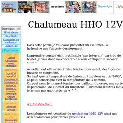 Chalumeau HHO 12V