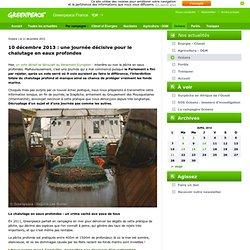 10 décembre 2013 : une journée décisive pour le chalutage en eaux profondes