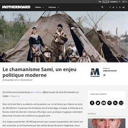 Le chamanisme Sami, un enjeu politique moderne