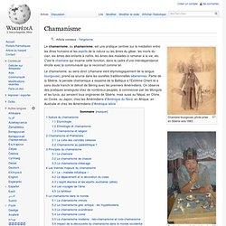 Chamanisme/ Wikipedia