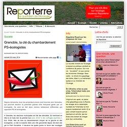 Grenoble, la clé du chambardement PS - écologistes