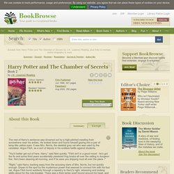 Harry Potter and The Chamber of Secrets Excerpt: Read free excerpt of Harry Potter and The Chamber of Secrets by J.K. (Joanne) Rowling (page 2)