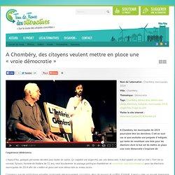 """A Chambéry, des citoyens tentent de mettre en place une """"vraie démocratie"""""""