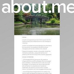 Jeanne Chapeau - Chambéry, Lyon, Grenoble - France, Université du Nous