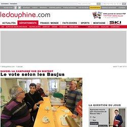 Le vote selon les Baujus