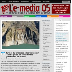Lemedia05.com : Les travaux gelés