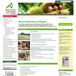 Truffe - Chambre d'Agriculture de la Dordogne