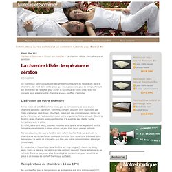 Erika pearltrees - Temperature ideale chambre bebe ...