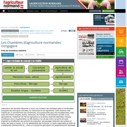 Les Chambres d'agriculture normandes s'engagent
