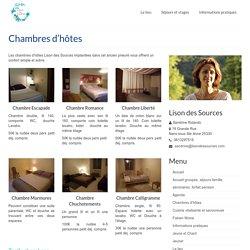 Chambres d'hôtes -