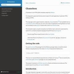 Chameleon templates