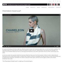 Chameleon mood scarf -NEFFA