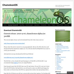 Download ChamelonOS | ChameleonOS