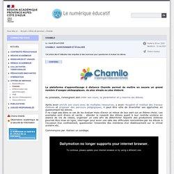 Chamilo - Le numérique éducatif