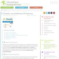 Chamilo: une plateforme de E-learning