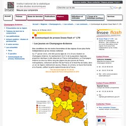 Insee Champagne-Ardenne - Communiqué de presse Insee flash n°179