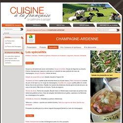 CHAMPAGNE-ARDENNE - Saveurs de France