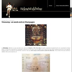 Vinocamp : un week-end en Champagne
