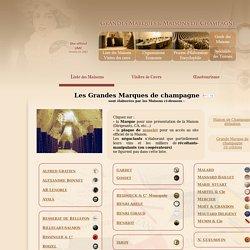 Champagne : Liste des Maisons
