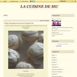 APERO - Crèmes brulées au… - La cuisine de Mu
