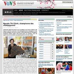 Nguyên Thi Chinh, championne des champignons!