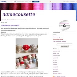 Champignonus odorantus: DIY - naniecousette