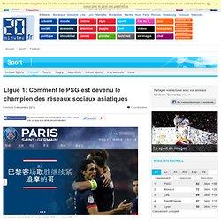 Ligue 1: Comment le PSG est devenu le champion des réseaux sociaux asiatiques