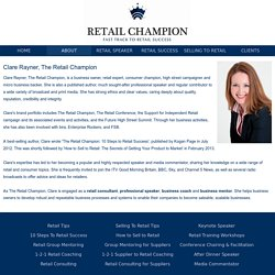 About The Retail Champion: Mission, Services