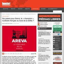 Qui paiera pour Areva, le « champion » nucléaire français au bord de la faillite