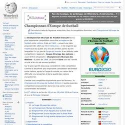 Championnat d'Europe de football