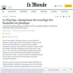 La Norvège, championne du recyclage des bouteilles en plastique