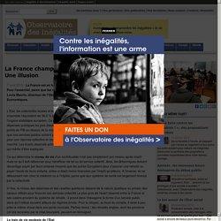 La France championne des dépenses publiques? Une illusion