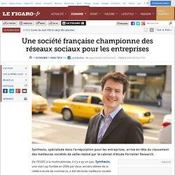 Une société française championne des réseaux sociaux pour les entreprises