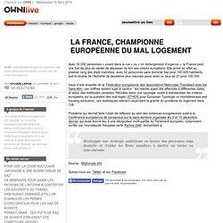 La France, championne européenne du mal logement » Article