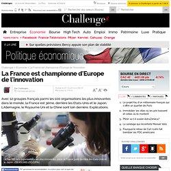 La France, championne d'Europe de l'innovation