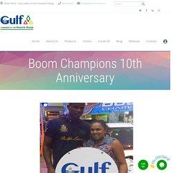 Boom Champions 10th Anniversary - Best Insurance Company Trinidad & Tobago - Gulf Insurance Limited